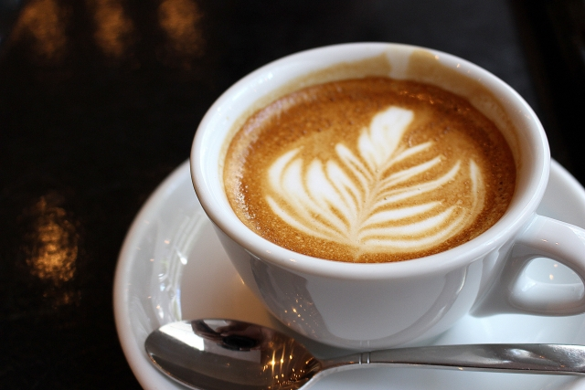 カフェラテ-コーヒー