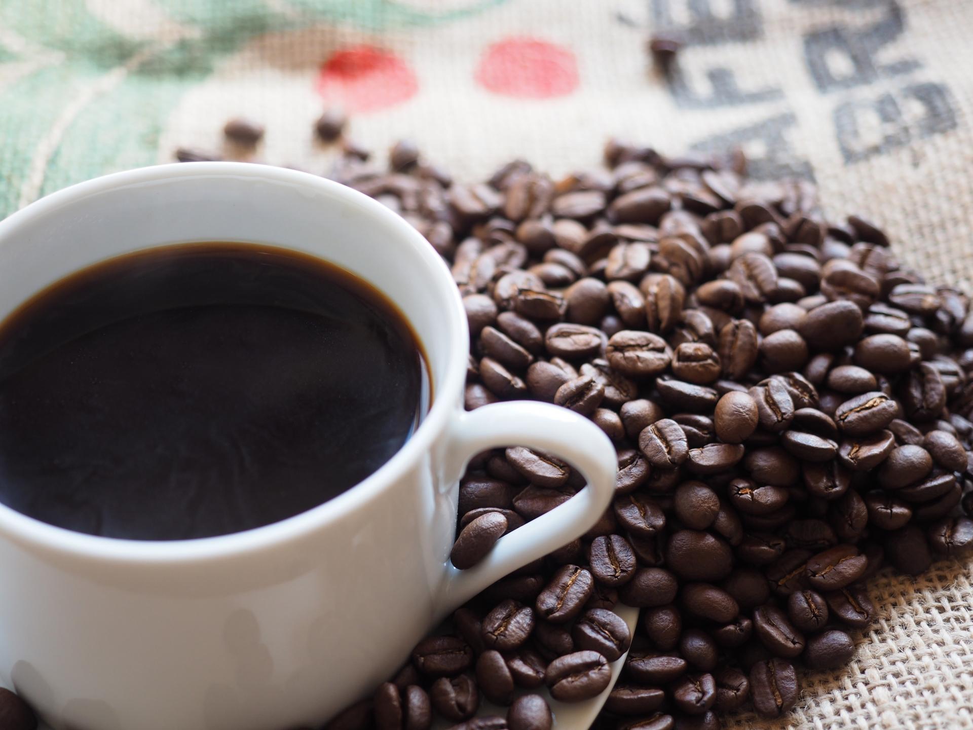 コーヒーと焙煎豆