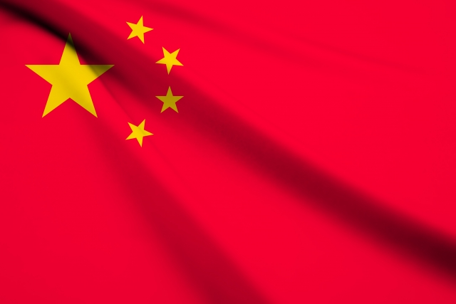中国、国旗