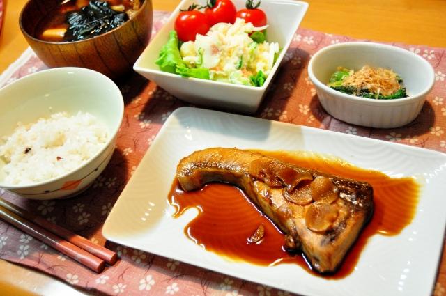 和食-ぶりの照り焼き